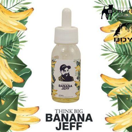Banana Jeff, e-liquide banane flambée premium par BDY