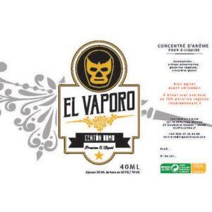 E-liquide Centon Bomb, un mélange de 4 variétés de cannelles avec un soupçon de sucre par EL VAPORO