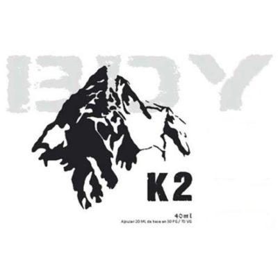 E-liquide K2, le classic miel et noisettes par BDY