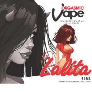 Etiquette E-liquide Lalita
