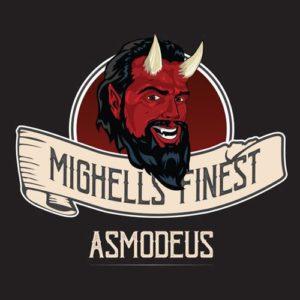 Asmodeus, e-liquide custard et Kentucky bourbon, e-liquide premium par Mighell's Finest