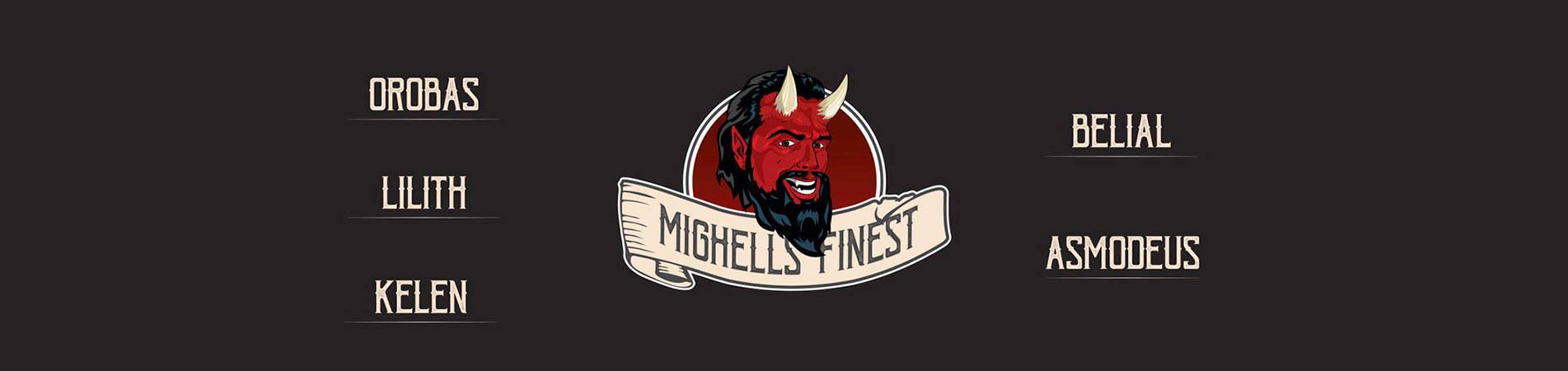 Tous nos e-liquides de chez Mighell's Finest