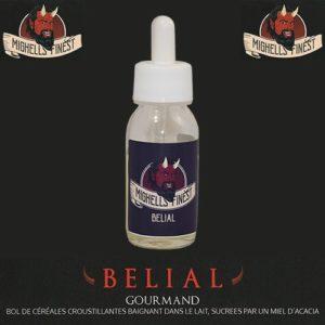 Belial, e-liquide céréales lactées et sucrées au miel par Mighell's Finest