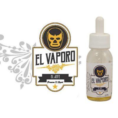 El jefe, e-liquide bourbon et noix de coco, premium par EL VAPORO