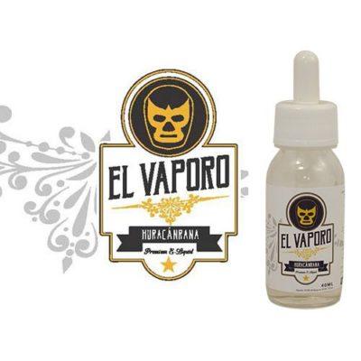 Huracanrana, e-liquide custard noix de coco avec une touche de fraise par EL VAPORO