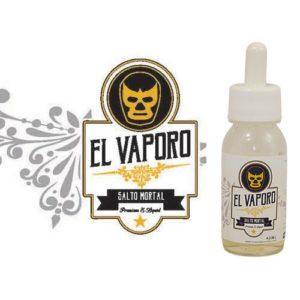 Salto mortal, e-liquide poire caramélisée premium par EL VAPORO