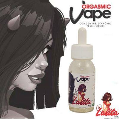 Lalita, un e-liquide custard gourmand fruité à la vanille et fraise par Orgasmic Vape